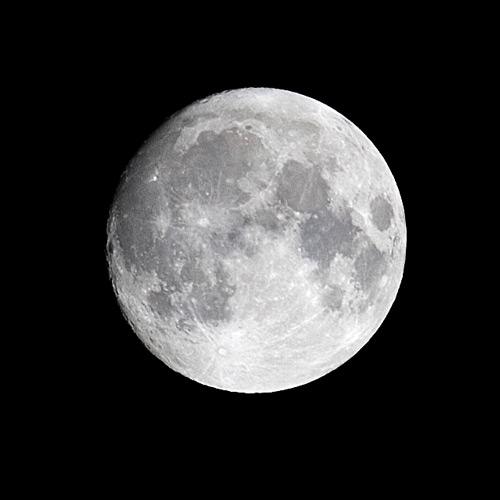 Inspiring Bohemian Moon Photo