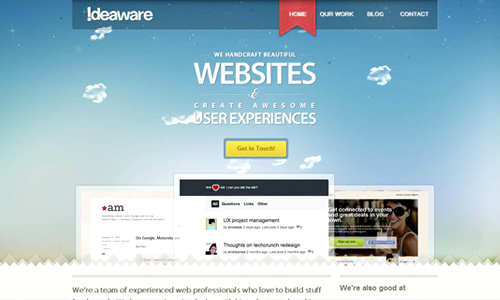 make sites look more professional
