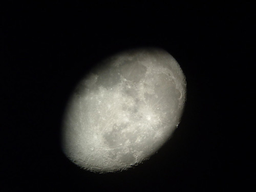 Creepy Moon Photo