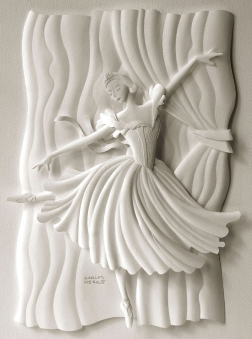 Oh so lovely Paper Sculpture.