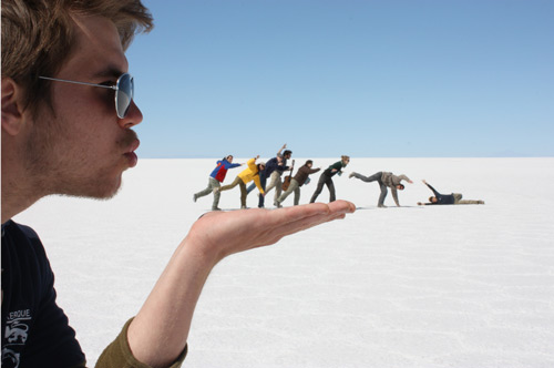 Tricky Forced Perspective Photo