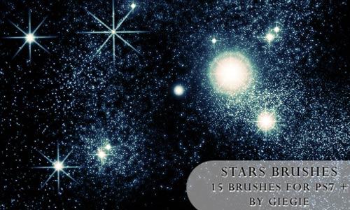 So excitng Star Brushes
