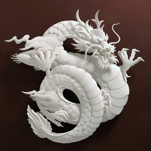 Attractive Paper Sculpture.