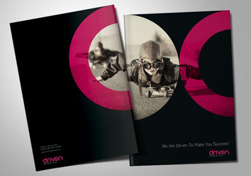 pretty brochure design
