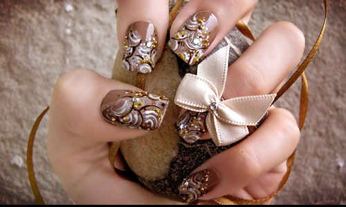 Very attractive nail art