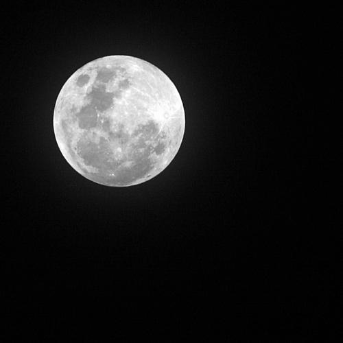 Colorful Moon Photo