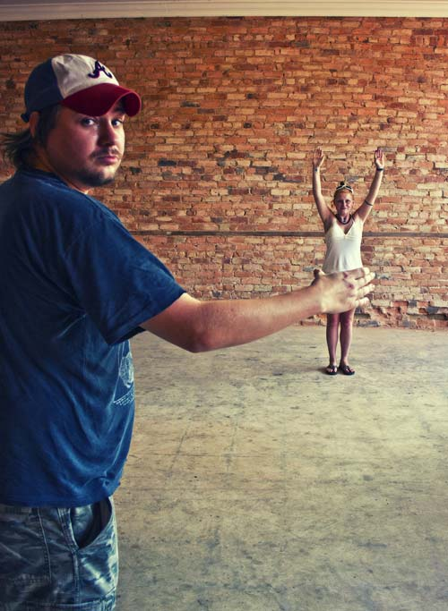 Lively Forced Perspective Photo