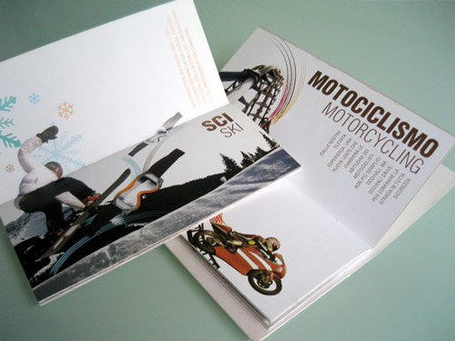 hardcore brochure design