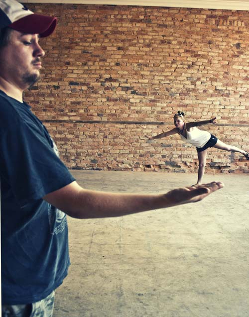 Unbelievably Conceptualized Forced Perspective Photo