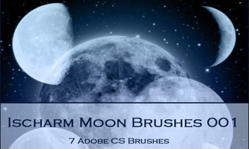 Inspiring Moon Brushes