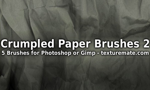 crumpled brush pack