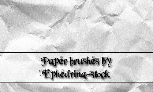 Classy look Paper Brushess