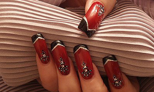 Elegant creation nail Art