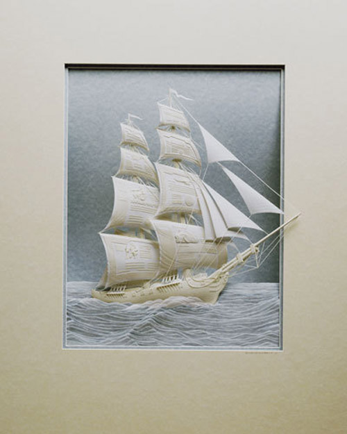Awesome Paper Sculpture.