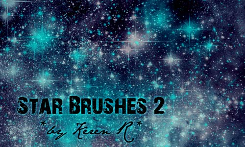 Irrestibly cool Star Brushes