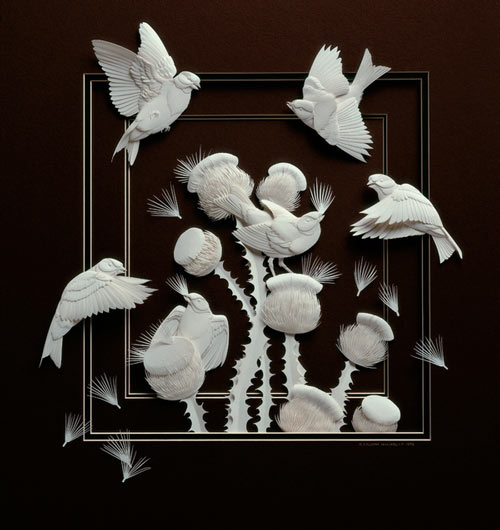 Beautiful Paper Sculpture.