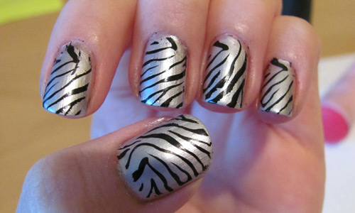 Inspiringly created nail Art