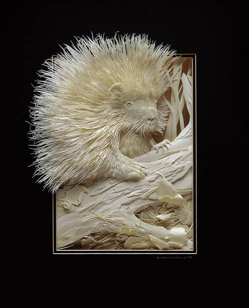 Stunning Paper Sculpture.