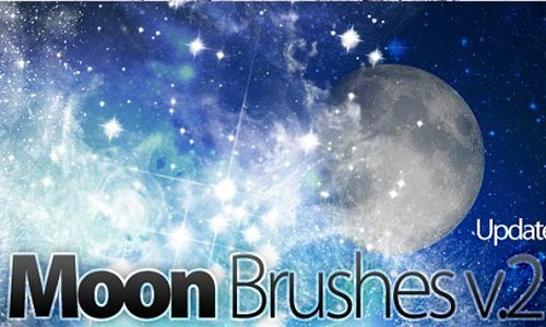 Sparkling Moon Brushes