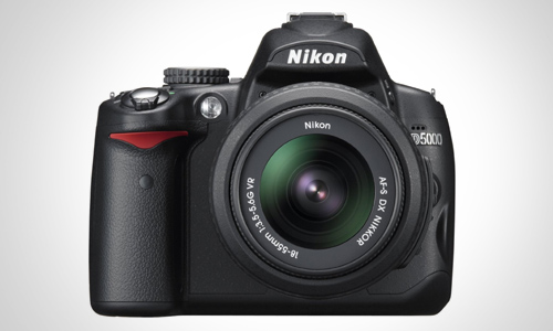 The D5000 DSLR Camera