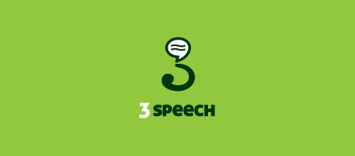 3 Speech logo