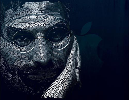 Appealing Steve Jobs Illustration