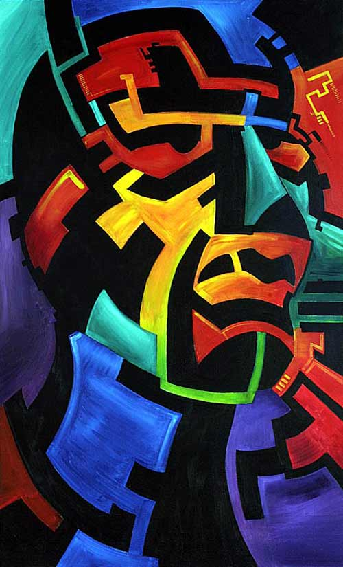 Remarkably Nice Abstract Art Painting