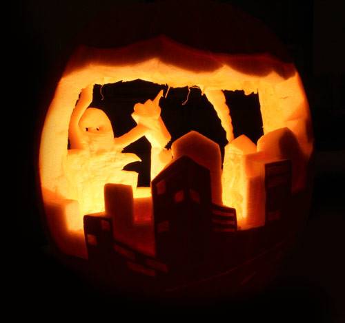 Inventive Pumpkin Carvings