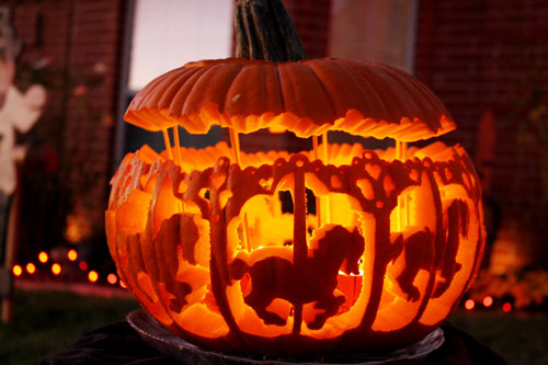 Seasonal Pumpkin Carvings