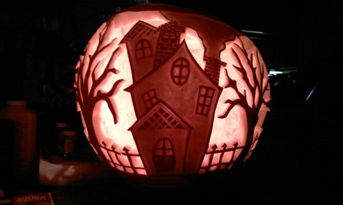 Very Appealing Pumpkin Carvings