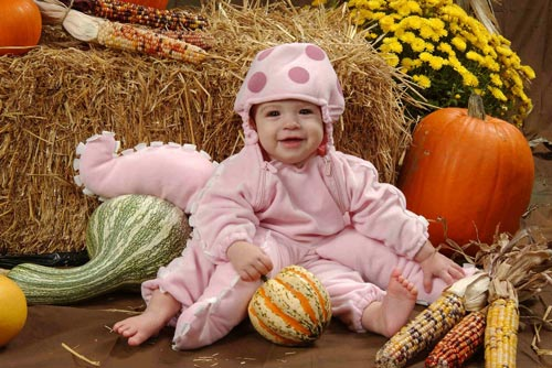 Classy Baby Halloween Photography