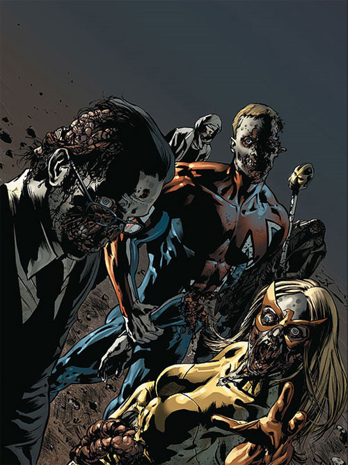captain britain zombie