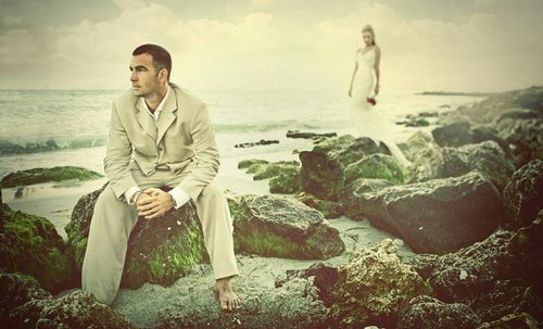 So cool wedding Photo