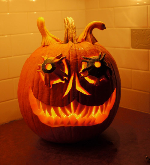 Interesting Pumpkin Carvings