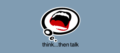 think...then talk logo
