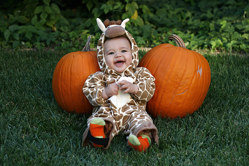 So! Appealing Baby Halloween Photography