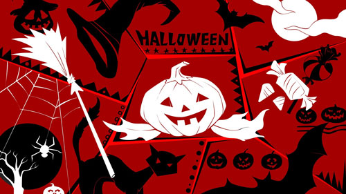 So! Awful Halloween Wallpaper