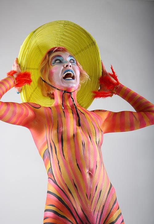 Hilarious Body Paint Art