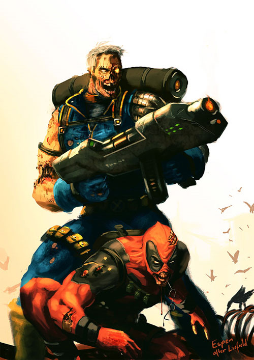 zombie cable deadpool