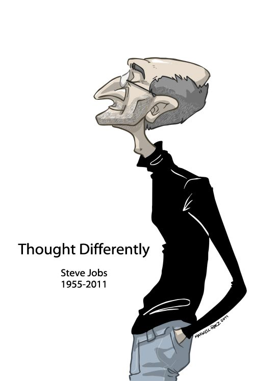 Pretty Nice Steve Jobs Illustration