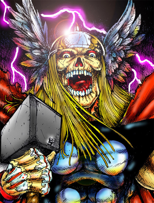 zombie thor color
