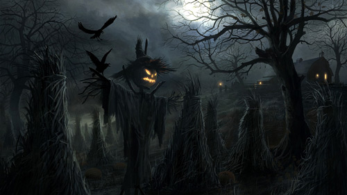 Very Interesting Halloween Wallpaper