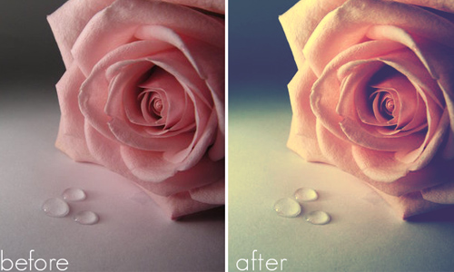 Learn more of Photoshop through actions
