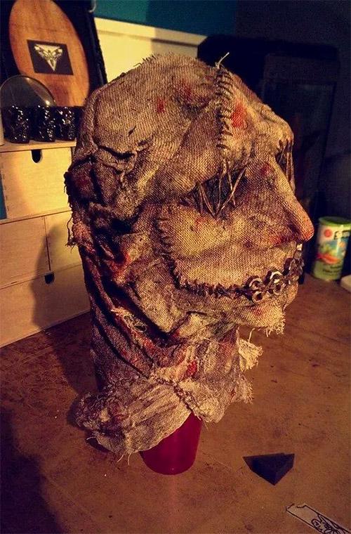 sack Halloween mask