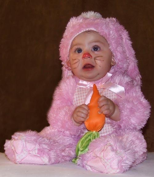 Very Glamorous Baby Halloween Photography