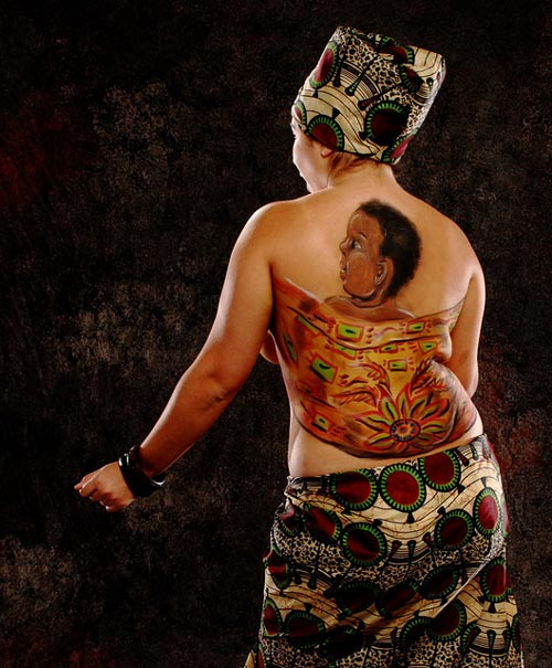 Meaningful Body Paint Art