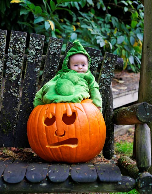 Very Captivating Baby Halloween Photography