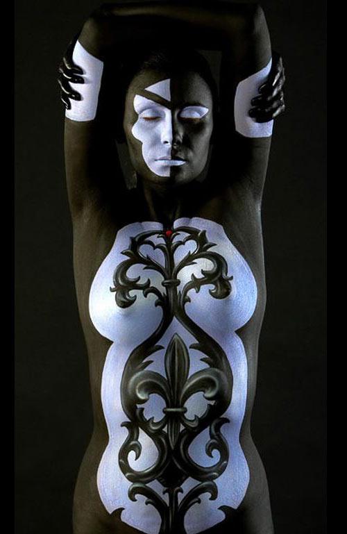 Impressive Body Paint Art