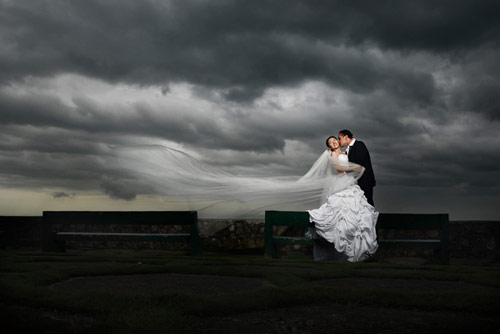 Simply Irresistible together wedding Photo