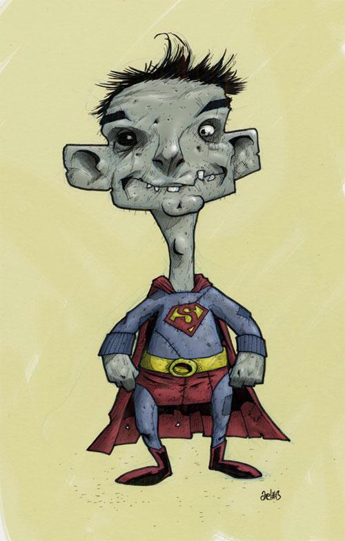 superman zombie